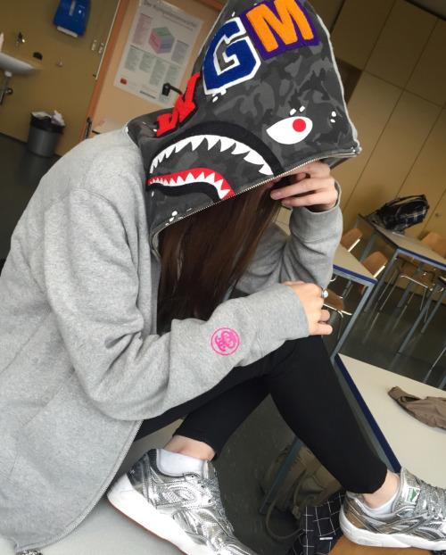 SHARK AT SCHOOL